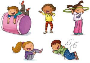 psicomotricità bambini ginnastica