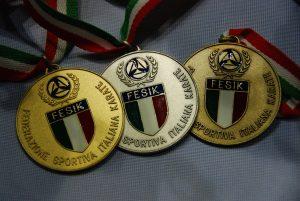 medaglie fesik ita 2017